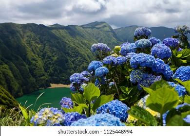 "Seven Cities Lake ""Lagoa das Sete Cidades"" in Sao Miguel Island - Azores - Portugal"