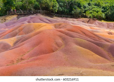 Seven Colored Earths in Mauritius - Black River Gorges National Park
