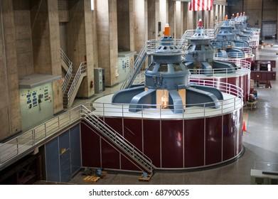 Seven Generators on the Nevada Side