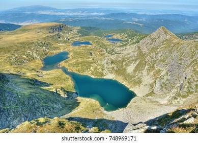 Seven Lakes of Rila in the Rila mountains (Bulgaria)