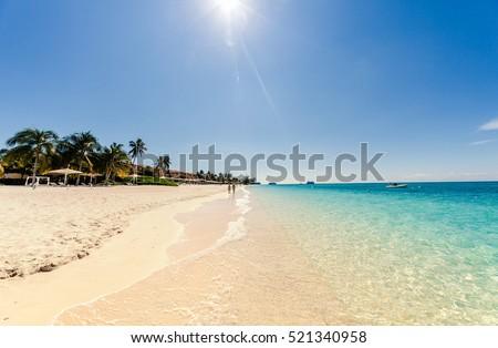 Seven miles beach on