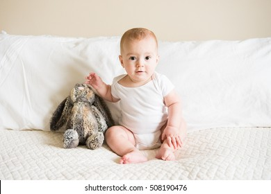 a7f1dedcc 3 Month Old Baby Lying Down Stock Photo (Edit Now) 361730906 ...