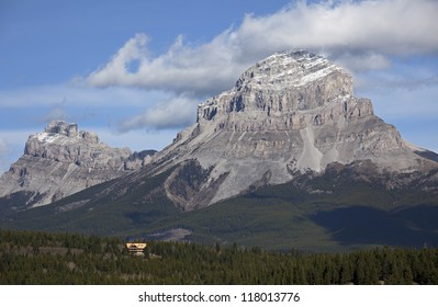 Seven Sisters Mountain and Crowsnest Mountain, Alberta, Canada
