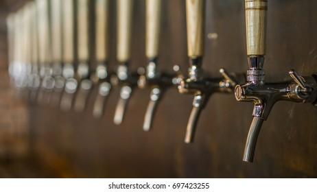 Seventeen Beer tap in Bangkok Thailand