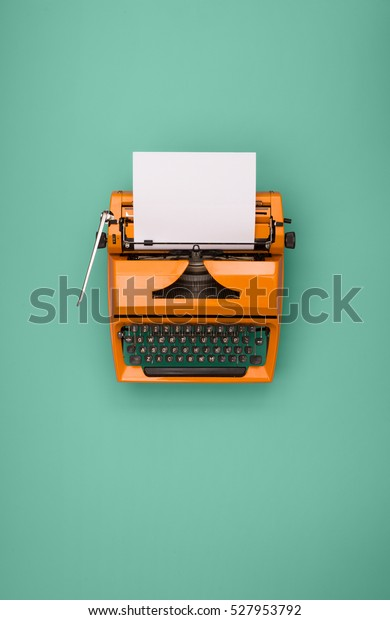 Seventies typewriter