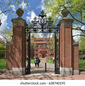 Sever Gate, Harvard University