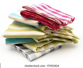 several tea towels