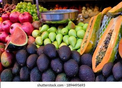 Severals fruits in the market
