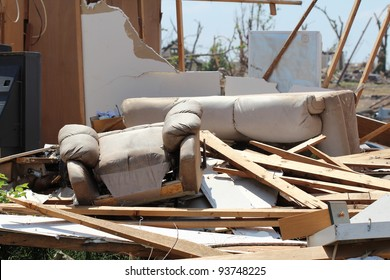Severe damage to both structure and belongings by a powerful tornado punctuate the loss caused by severe weather and serve to remind us that, advanced as our race may be, we do not control everything.