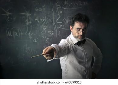 Severe teacher