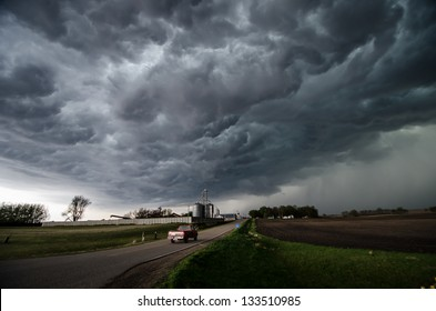 A severe thunderstorm in Minnesota.