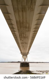 The Severn Bridge (welsh Pont Hafren) crosses from England to Wales across the rivers Severn and Wye.
