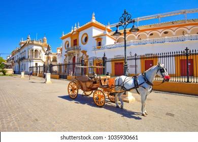 Sevilla, Arena, plaza de toros, Spain