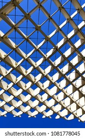 SEVILLE, ANDALUSIA, March 19, 2017: The famous Metropol Parasol in Seville, Andalusia, Spain