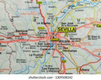 Sevilla Map Stock Photos, Images & Photography | Shutterstock