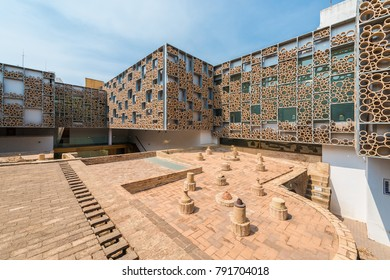 SEVILLE, ES - MARCH 7, 2017: Centro Ceramica Triana is a museum created in 2014 to preserve and promote the ceramic tradition of the city of Seville in Andalusia, Spain.