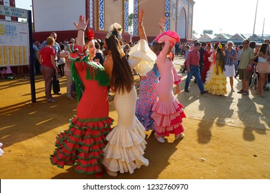 a987b4faf19 Flamenco Dancing Seville Stock Photos