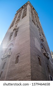Seville Spain - Seville cathedral - the main tower