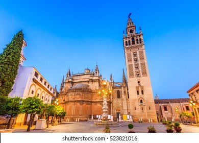 Seville, Spain. Cathedral of Saint Mary of the See.