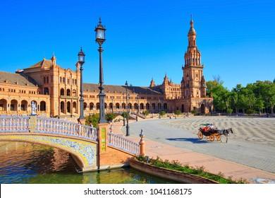Seville, Spain, Spain square