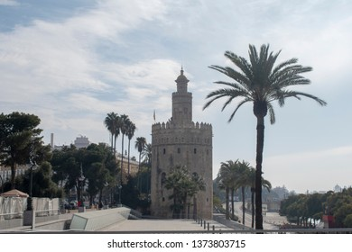 Seville Spain the tower of gold