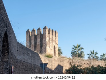 Seville Spain the walls of Seville Macarena area