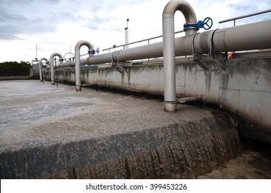 sewage treatment plant in the area of Santander