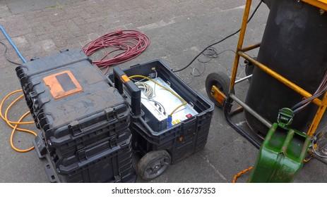 Sewage treatment, sewage system cleaning