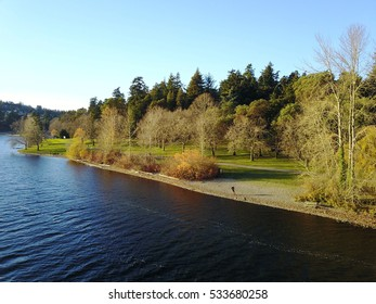 Seward Park Seattle Washington Lakeside