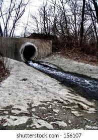 sewer hole