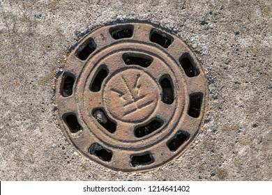 A Sewer Hole on Street