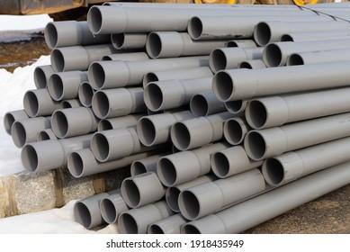 sewer pipes plastic water repair drain work new