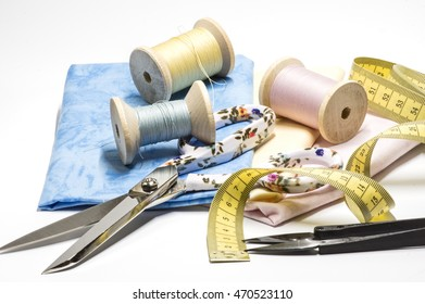 Sewing Accessories in pastel
