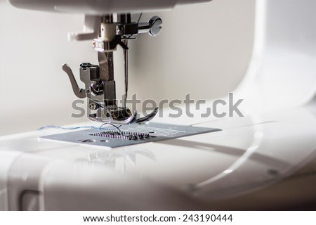 Sewing Machine Foot Thread Needle Stock Photo Edit Now 40 Extraordinary How To Thread A Needle On A Sewing Machine