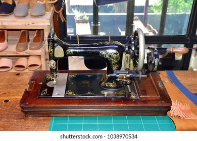 sewing machine for shoes shop