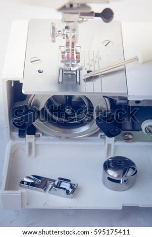 Sewing Machine Tools Repair Stock Photo Edit Now 40 Awesome Sewing Machine Repair Tools