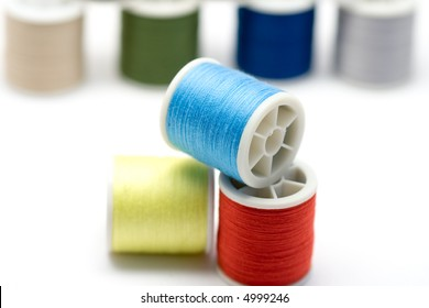 sewing reels with thread