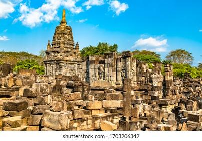 Sewu Temple at Prambanan near Yogyakarta in Central Java, Indonesia