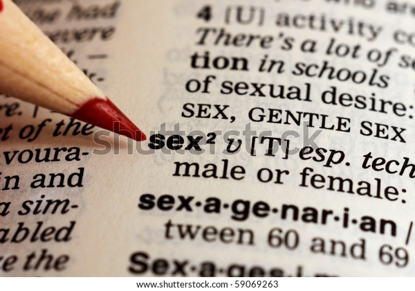 a sex definition in a dictionary