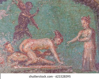 Ancient illustrations of sex