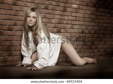 Блондинка девочка секс