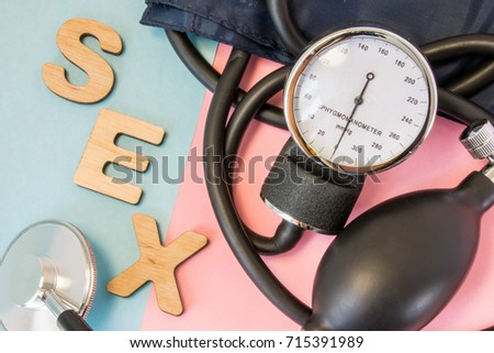 Low blood pressure up during sex