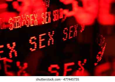 Sex Red LED Lights Repeated