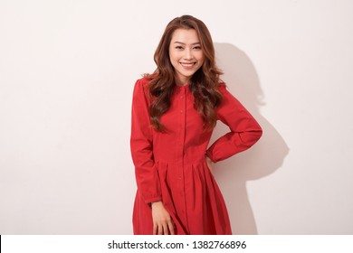 Sexy asian female model posing