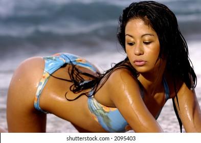 Hot ass asian babes Sexy Asian Girl Stock Photo Edit Now 2095403