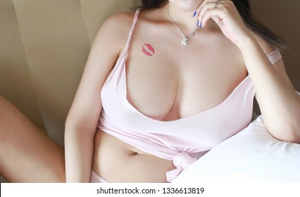 sexy asian girl model in fashion wear japanese style sexy young woman with big breast.beautiful body of woman big boobs