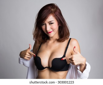 Asian lingerie thumbs