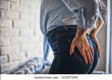 sexy ass in jeans / hard style, sexy clothes ass in pants