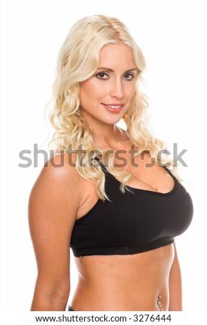Congratulate, what blond girls wearing sexy bras