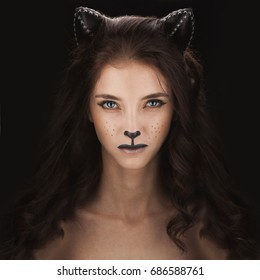 Catwoman Costume Images Stock Photos Vectors Shutterstock